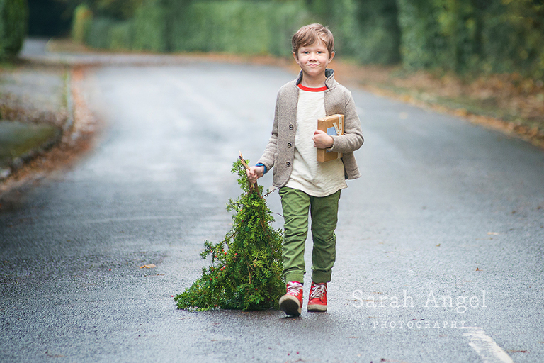 Sydney's Children's outdoor photography session in Farnham, Surrey by Sarah Angel Photography