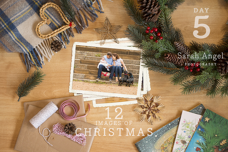 Baby and family photo session in Farnham Surrey 12 Images of Christmas